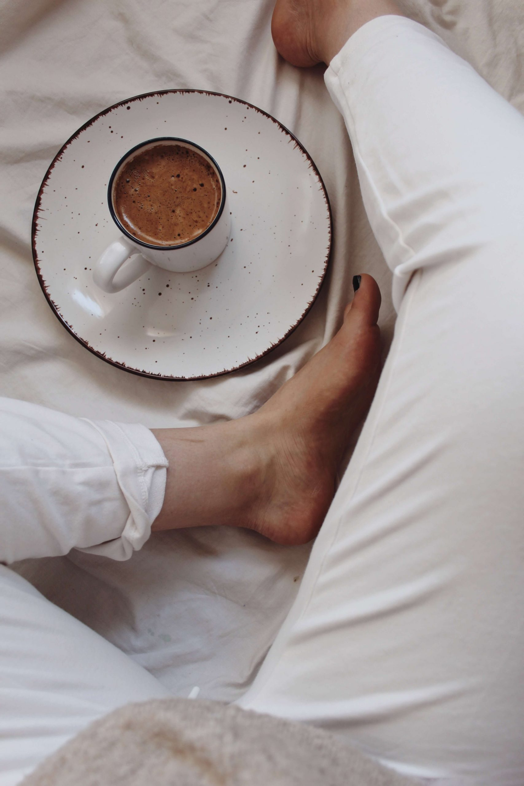 We all have days when we are too lazy to do something. Like when you just woke up, but then you feel exhausted already. It isn't necessarily a bad thing. We all have those moments and it's okay.